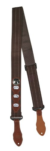 Peavey Jack Daniel's Pinstripe Strap - Brow