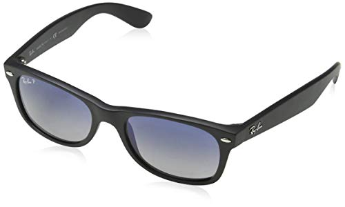 Ray-Ban New Wayfarer - Gafas de sol para hombre, Negro, 52 mm