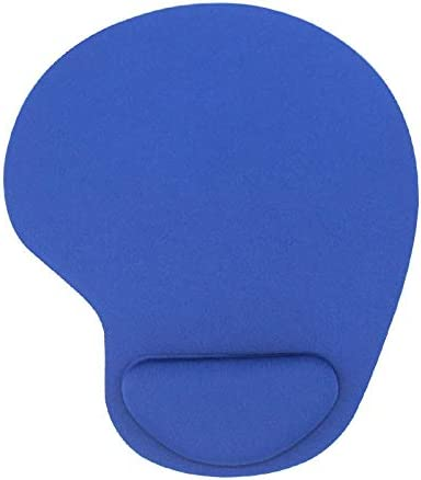 Keyboard Wrist Rest Pad Mouse Pad with Wrist Rest for Computer Laptop Notebook Keyboard Mouse Mat with Hand Rest Mice Pad Gaming Accessories Mouse Wrist Cushion Support (Color : Dark Blue)