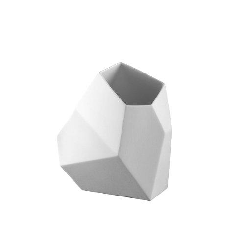 Rosenthal - Surface Vase - Blumenvase 18 cm Weiß matt