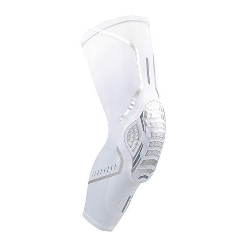 Chir Rodilleras deportivas reutilizables para múltiples deportes (blanco individual, XL)