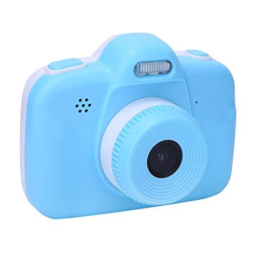 Cámara para niños recargable, cámara digital de 2.8 pulgadas para niños con grabadora de video y cordón de 12MP HD 720P Diseño anticaída compatible con sensor CMOS HD Niños niñas Regalos creativos