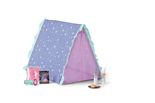 "American Girl WellieWishers Star Gazing Garden Tent Set for 14.5"" Dolls"