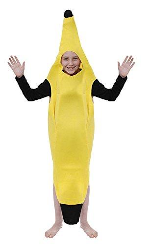 Kinder-gelbe Bananen Kostüm Alter 10-11 Jahre
