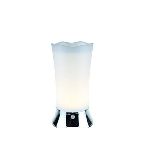 MIOOORE batterij-aangedreven tafellamp met bewegingsmelder, draadloos, mini-nachtlampje voor thuis, woonkamer, keuken, slaapkamer