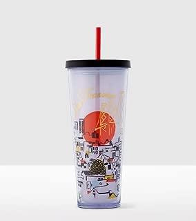 Starbucks 2016 San Francisco Cold Cup Tumbler Venti California 24 fl oz