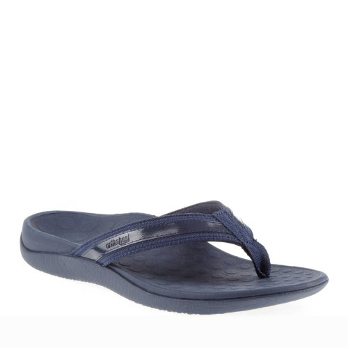 Orthaheel Womens Tide Sandals in Navy Size 7