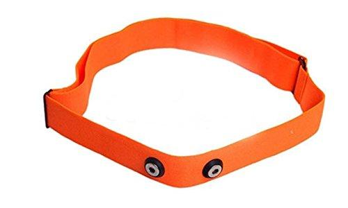 GO-SHOPPING24 Correa suave de repuesto, tamaño M-XXL, color naranja