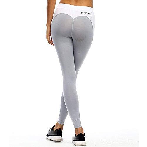 WAY Reflektierende Jacke für Damen, Herzform, Power Stretch, hohe Taille, Fitness, Laufen, Joggen, Reiten, für Männer und W