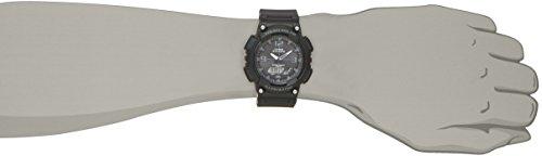 [カシオ]腕時計スタンダードソーラーAQ-S810W-1A2JFブラック