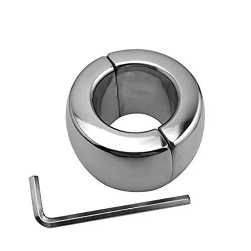 Metall CocK1 Ring Hodensack Anhänger Kugeltragen Hoden Gewicht Penis Zurückhaltung