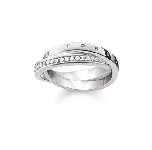 Thomas Sabo GmbH Women Ring Together Forever 925 Sterling Silver TR2099-051-14