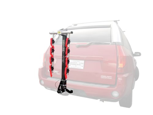 Sparehand 4-Bike Hitch Mount Vehicle Rack for All Frame Types, 132 lb. Max Weight Capacity