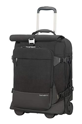 SAMSONITE Ziproll - Duffle/Backpack Small with Wheels Koffer, 55 cm, 46.5 Liter, Black