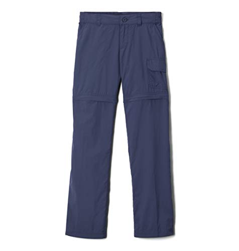 Columbia Girl's Silver Ridge IV Convertible Pants, Moisture Wicking, Sun Protection, Large