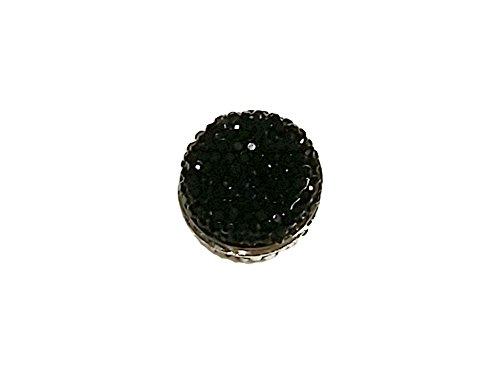 La Loria Damen Schal-Magnet -Twinkles- in Schwarz Magnet Schmuck Anhänger für Schals