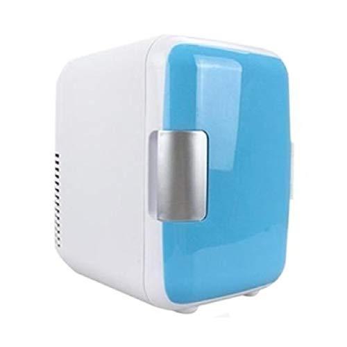 LWXXXA Mini refrigerador, refrigerador y Calentador termoeléctrico portátil, refrigerador de un Piso, Doble Uso frío y Caliente, para Cuidado de la Piel, Leche Materna, Alimentos