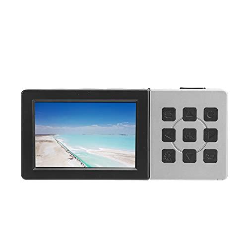 Caja de grabación de captura de video HD, pantalla de 3 pulgadas Caja de grabación de captura de video de interfaz múltiple HD Convierte música antigua a MP3 digital, admite la mayoría de la reproducc
