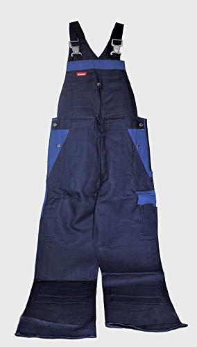 KANSAS Bib'n Braces Latzhose blau Arbeitshose Berufskleidung Hose Arbeit, Größe:50