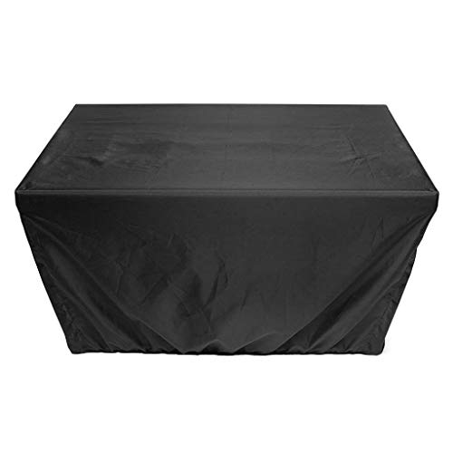 2020 Gas Fire Pit Cover Rectangular 45x33x23 inch/30x30x24.5 inch - Waterproof Windproof Anti-UV Heavy Duty Patio Firepit Furniture Covers (45''x33''x23'')