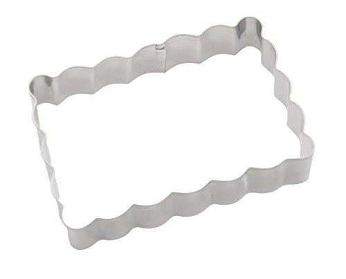 DeColorDulce Moule Biscuit, Acier Inoxydable, Argent, 13 x 10 x 3 cm
