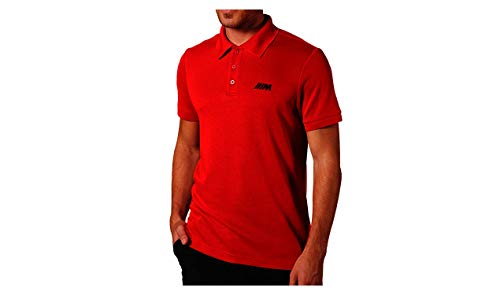 BMW Original M Polo-Shirt Herren rot - Kollektion 2020/21 Größe L