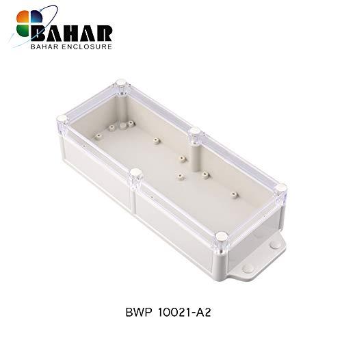 Bahar Enclosure Kunstoffgehäuse Wasserdichte Anschlussdose Weiß Gehäuse Waterproof Junction Box IP68 Waterproof Enclosure Transparent Durchsichtig Deckel Lid Kunststoff Gehäuse Plastik