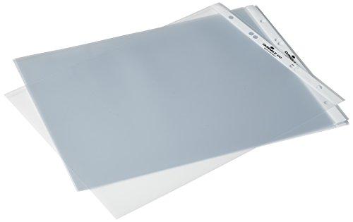 Durable 856519 Sichthülle (für Tisch-Flipchart) 1 Beutel à 10 Stück farblos