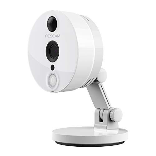 Foscam C2(Italienische Version)–Kamera IP WLAN Full HD 1080p (2.0Megapixel), Nachtsicht 8m, Motion Detection mit PIR-Sensor, E-Mail Alert, microSD Slot, ONVIF, P2P Plug & Play