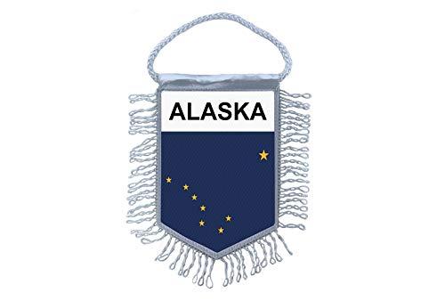 Akachafactory Wimpel minivlag vlag vlag minivlag usa Alaska