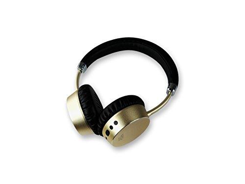 Xoro KHB 300 Kompakter Bluetooth Kopfhorer Freisprechfunktion Mikrofon NFC integrierter Akku gold