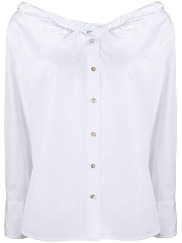 Kenzo Luxury Fashion Damen FA52CH0185AP01 Weiss Hemd | Frühling Sommer 20