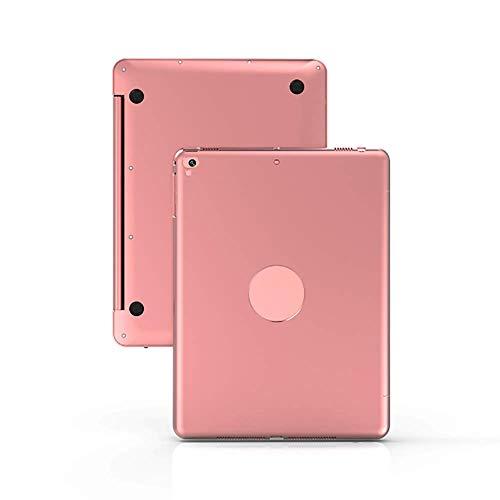 Bluetooth-Tastatur, drahtlose Tastatur mit 2,4 GHz-Tastatur, Reichweite bis zu 10 m, Für IPad, Ipad Pro, Office,Rosegold