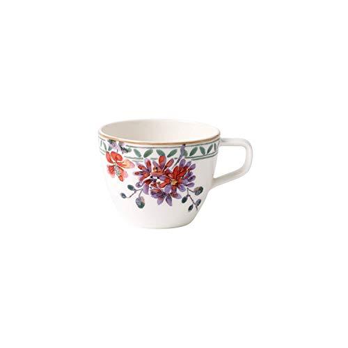 Villeroy & Boch - Artesano Provençal Verdure Kaffeetasse, Tasse mit französischem Flair aus Premium Porzellan, spülmaschinenfest, 250 ml