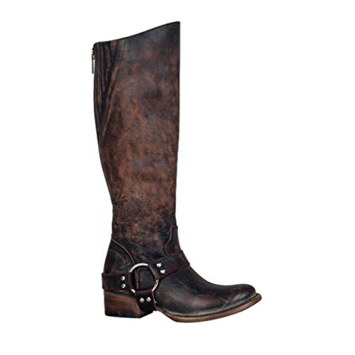 Damen Stiefel Kniehohe Stiefel Freizeit Schenkel-hohe Stiefe Schuh Klassische Runde Zehe verdicken Long Tube Stiefel 3 Farbe 36-43