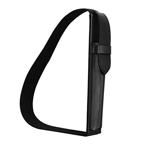 ProCase S Pen houder voor Samsung Tab S4/ Tab S3, Premium kunstleren hoes tas case met afneembare band voor Samsung Galaxy Tab A 10.5(T590)/Galaxy Tab S4 10.5(T830)/Galaxy Tab S3 9.7(T820) -zwart