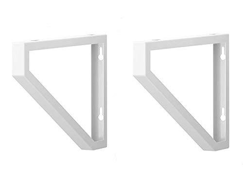 Ikea plank beugel Ekby Lerberg (Set van 2) wit poedercoating staal 11