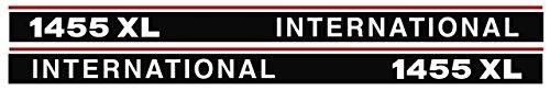 IHC Aufkleber international 1455XL 1455 XL Logo Emblem Sticker Label lang 163x51x11cm