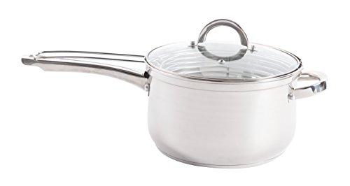 Oster Sangerfield Stainless Steel Cookware, 4.8-Quart Deep Fryer w/Basket