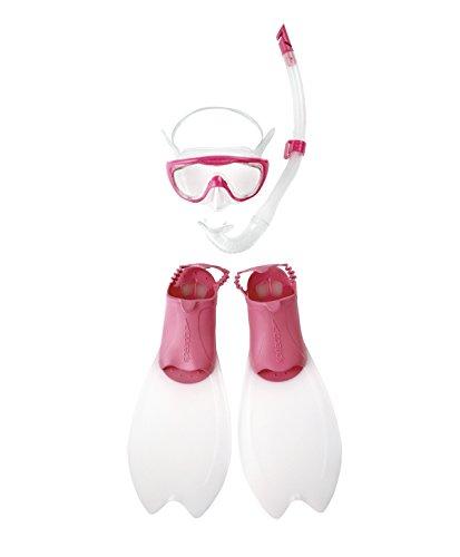 Speedo Junior Glide - Máscara de Snorkel y Buceo Infantil, Color Azul