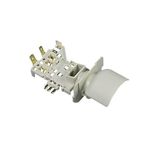 Lampenfassung E14 Thermostat Adapter Kühlthermostat Kühlschrank Original Whirlpool Bauknecht 481010650381 Indesit C00380774 Lampenfassung und Halterung ATEA auf RANCO