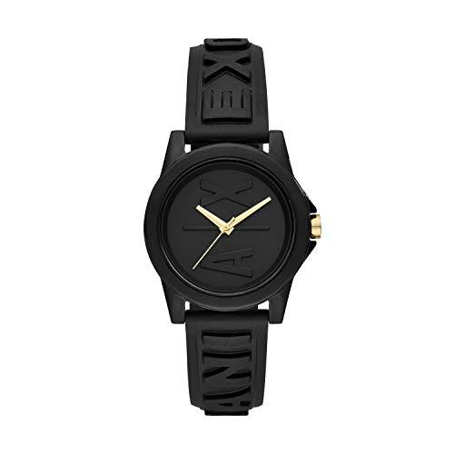 Armani Exchange Reloj Analogico para Mujer de Cuarzo con Correa en Silicona AX4369