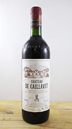 Wein Jahrgang 1988 Château la Caillavet Flasche