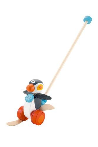 Sevi - 82189 - Jouet de Premier Age - Jouet à Pousser Pingouin