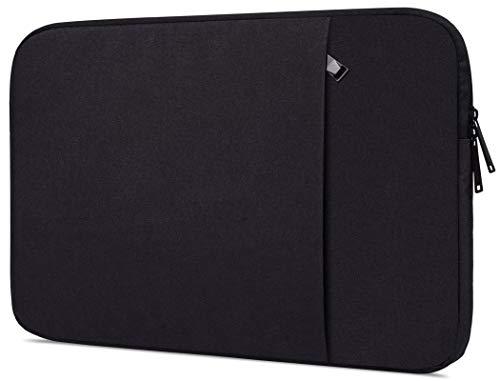 Laptop-Hülle für Acer Aspire 5 Slim Laptop, Acer Aspire E 15 E5-575, Lenovo Flex 5 15, Dell Inspiron 15, HP 15,6 Zoll Laptop, MSI GL62M 15,6 Zoll (39,6 cm), wasserdicht, Schwarz