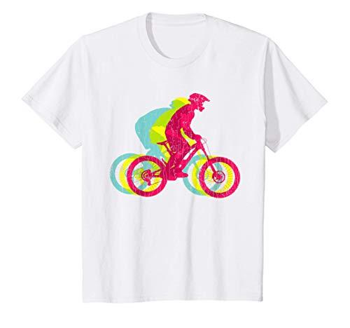 Bambino Regalo per i ragazzi della gioventù in mountain bike Maglietta