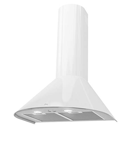 HAAG LED-SMD! - Campana extractora (60 cm), color blanco