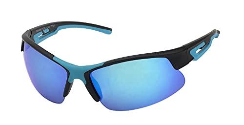 OPD Armoniarelax - Gafas de sol deportivas polarizadas M2, 100% UV, cat. 3, resistentes al sudor e irrompibles (azul)