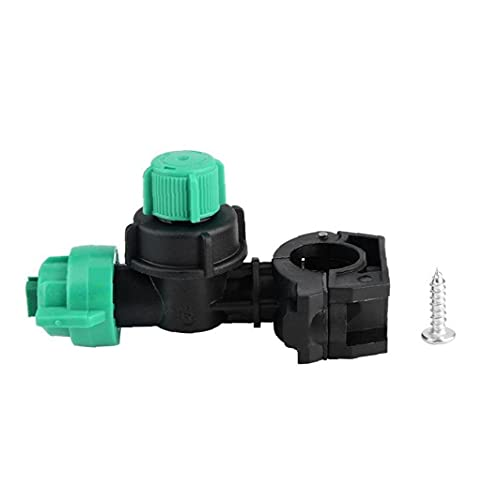 Plastic Tuin Watering Nozzle Pijp Klem Spray Landbouwmachine Verstuiking Nozzle Modificatie Accessorie