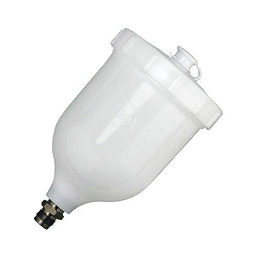 Devilbiss EDEVGFC501 Fließbecher Kunststoff zu PRi und Advancemodellen, Durchmesser 3/8 Zoll, 600 mL